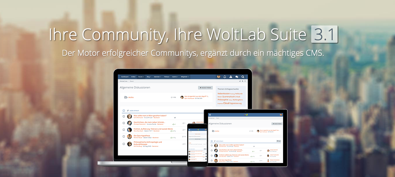Update: WoltLab Suite 5.3.6 / 5.2.14 / 3.1.22